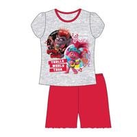 Official Girls Trolls Shortie Pyjamas