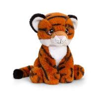 18cm Keel-Eco Tiger Soft Toy