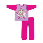 Official Girls Toddler Dumbo Star Snuggle Fit Pyjama
