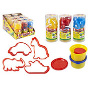 Animal Modelling Dough & Mould Set