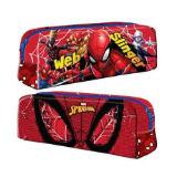 Official Spiderman Rectangular Pencil Case Web
