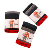 Mens Boxer Shorts Red Band