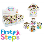 First Steps Baby Plush Toy