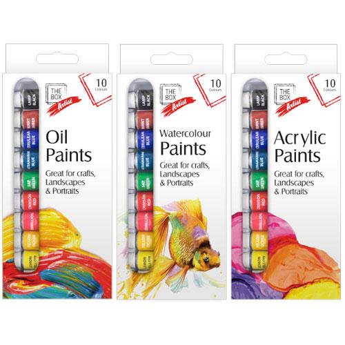 Artist Paints 10 Pack
