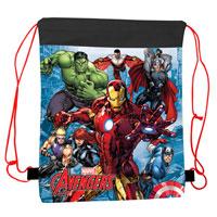 Official Marvel Avengers Pull String Bag