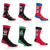 Festive Feet Mens Christmas Socks