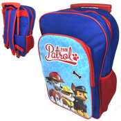 Blue Paw Patrol Deluxe Trolley Backpack Carton Price