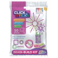 Clicksticks 50 Piece Pink Model Set