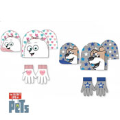 The Secret Life of Pets Hat and Glove Sets
