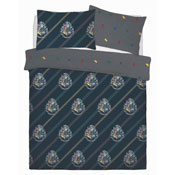Official Harry Potter House Colours Reversible Duvet Set