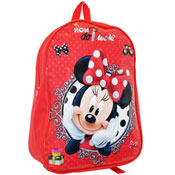 Minnie Mouse Red Junior Backpack