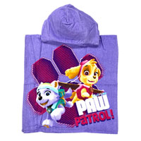 Official Girls Paw Patrol Towel Cotton Poncho