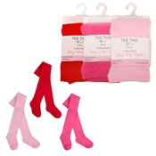 Baby Girls Cotton Rich Tights Bright