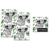 Modena Elephant Coasters 4 Pack