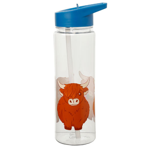 Reusable Water Bottle With Straw Coo Cow