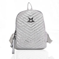 Star Shimmer Backpack Silver