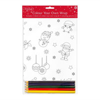 Colour Your Own Gift Wrap