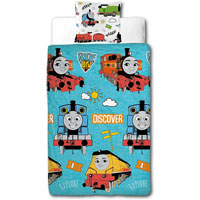 Official Thomas The Tank Engine Ride On Duvet Set