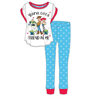 Ladies Official Toy Story Friend Pyjamas