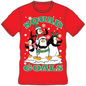 Christmas T-Shirt Red Squad Goals