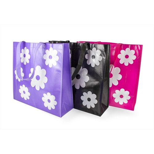 Reusable Flower Tote Bag