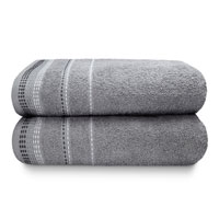 Berkley Luxury Cotton Bath Towels Silver