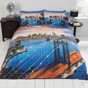Urban Unique New York Duvet Set