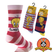 Ladies Tweety Socks