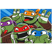 Ninja Turtles Childrens Character Fleece Blanket Throw