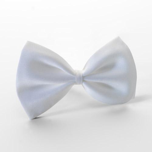 Dickie Bow Tie White