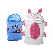 Childrens Car And Rabbit Storage Hamper