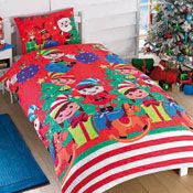 Childrens Christmas Bedding - Elf Party