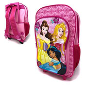 Official Disney Princess Deluxe Trolley Backpack