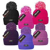 Adult Bobble Hat with Thermal Lining