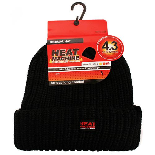 Mens Heat Machine Thermal Hat
