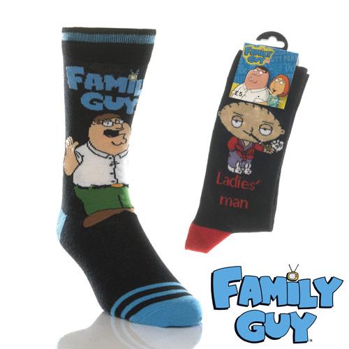 Mens Family Guy Socks Carton Price