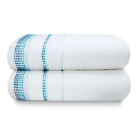 Berkley Luxury Cotton Bath Towels White