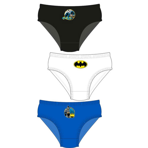 Boys Batman Assorted Briefs 3 Pack