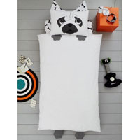 Creative Novelty Shaped Duvet Reversible - Dog