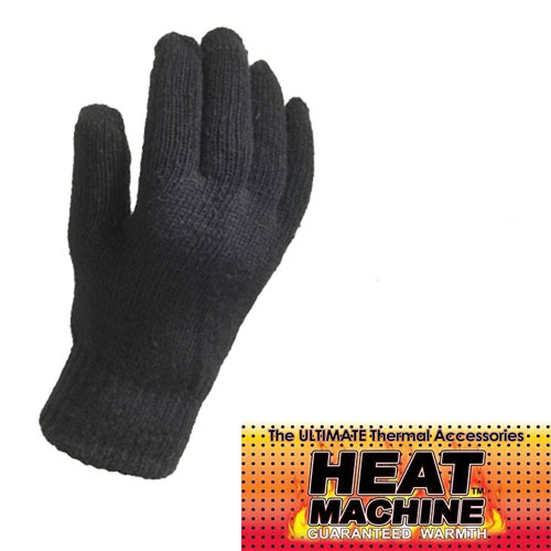 Mens Heat Machine Thermal Gloves