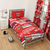 Official Arsenal FC Duvet Set