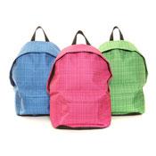 Stripe Rucksack Bag