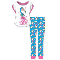 Ladies Official Snow White Sleepy Pyjamas