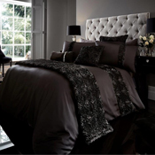 Signature Fabian Black Duvet Set