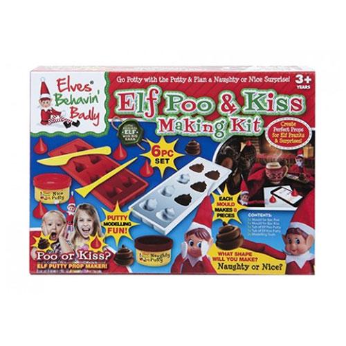 Elf Poo & Kiss Dough Making Kit