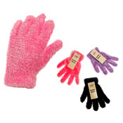Childrens Assorted Feather Gloves