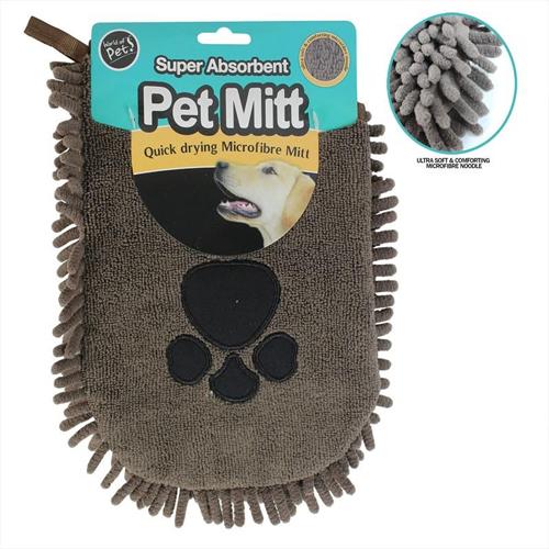 Super Absorbent Pet Mitt