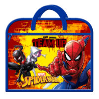 Official Spiderman Zipped Book Bag
