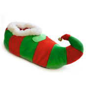 Mens Christmas Elf Slippers