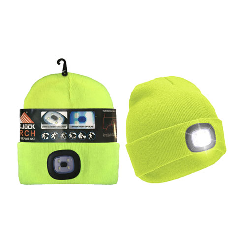 Adults Hat With Removable Torch Light